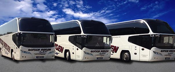 Die Busse unserer Firma